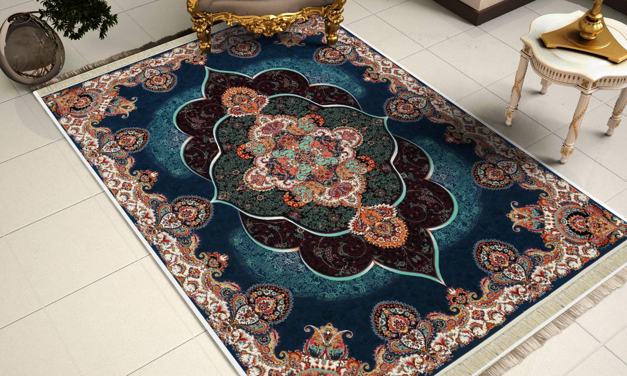 نمای پهن شده فرش پانیذ